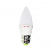 Лампа LED свеча B35 7W 4200K E27 220V LEZARD