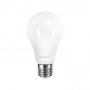 Лампа GLOBAL A60 8W 3000K 220V E27