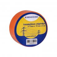 Изолента 0,13мм*19мм 5м оранжевая ACKO