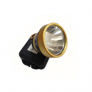 Фонарь LUMANO  налобный LED 5W АКБ 3режима,стробоскоп,вилка пластиковая,бокс,шнур,регулятор наклона 220V