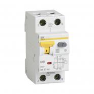 Дифференциальный автоматический выключатель IEK АВДТ-32 1+Nр 20А 30мА