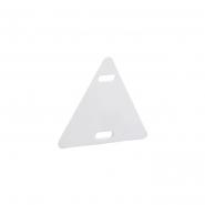 Бирка пластмассовая маркировочная У154 (шт), треугольная сторона 27мм
