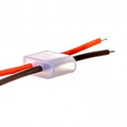 Монтажный комплект # 54/2 (2 заглушки+2провода) для светодиодного неона 6mm 12V