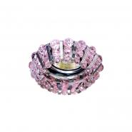 Светильник точечный MR-16 CD2121 50W розовый/хром