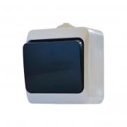 Выкл. 1-кл. влагозащищенный(чёрная клавиша)