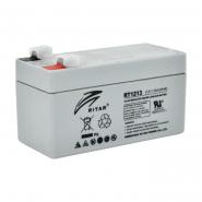 Аккумуляторная батарея AGM RITAR RT1213.Gray Case.12V 1,3 Ah