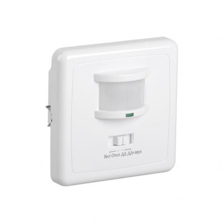 Датчик движения IEK ДД 035 белый 500 Вт радиус 140град.,12м IP20 арт. LDD12-035-500-001 - 1