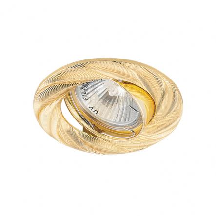 Светильник точечный Feron DL6027 MR-16 поворотный золото - 1