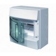 Щит настенный ABB Mistral 8 модулей прозрачная дверь IP65
