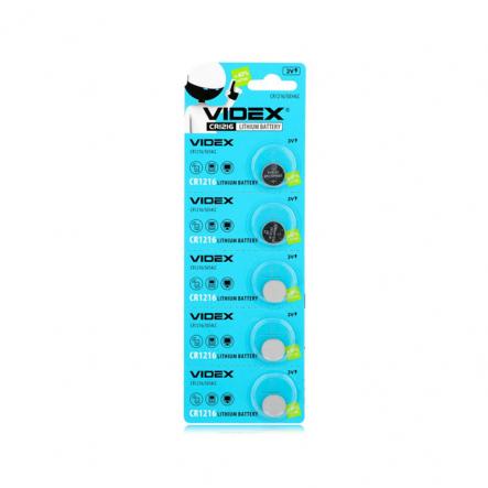 Батарейка CR 1216 VIDEX - 1