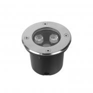 Светильник грунтовый  Feron SP4111 3W 230V  2700K 180Lm, 100*80mm