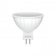 Лампа LED MR16 3W 4100K 220V GU5.3 Maxus