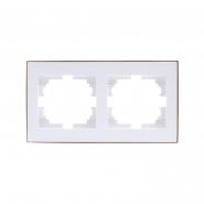 Рамка 2-я горизонтальная  с  боковой вставкой (10шт.) (120ящ)