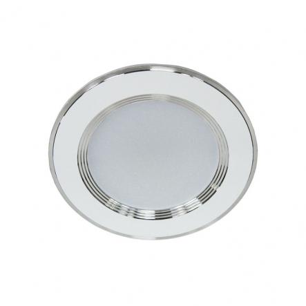 Светильник встраеваемый светодиодный AL527 Feron 5W круг белый 400Lm 4000K 95*28m d67mm - 1