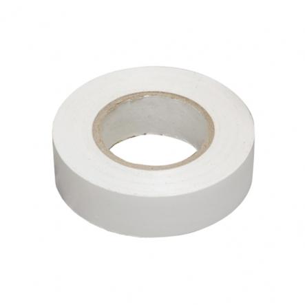 Изолента 0,13х15 мм бел. 20м ИЕК - 1