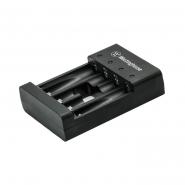 Зарядное устройство WBC-007F) ускоренная зарядка  (USB) для 4-х аккумуляторов