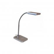 Настольная лампа  TF-230 3Вт LED серебро DELUX