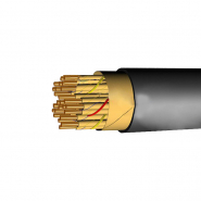 Кабель связи низкочастотный с кордельно-бумажной изоляцией в свинцовой оболочке ТЗГ 7х4х1,2