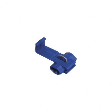 Зажимы-ответвители, прокалывающие изоляцию, типа ЗПО-1 1,0-2,5 мм2 синий (100 шт) ИЭК - 1