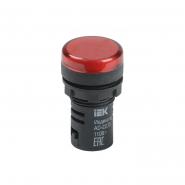 Светосигнальный индикатор IEK AD22DS (LED) матрица d22мм красный 230В