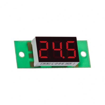 Вольтметр цифровой ВМ-14/1 (0,0....99,9В), питание 7-15В DC без корпуса V-protektor - 1
