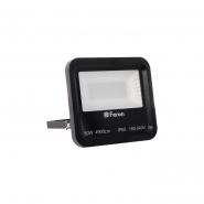 Прожектор 96LEDS 50W белый 6400K 230V (225*200*63mm) Черный  IP 65