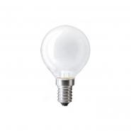 Лампа PHILIPS Р-45  шар Е14  60 W матовая