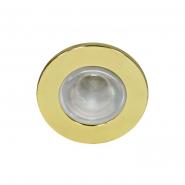 Светильник точечный Feron R-39 Е14 золото