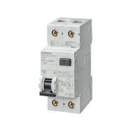 Дифференциальный автоматический выключатель  тип AC 30MA, C 6A, (УЗО+Автомат) Siemens