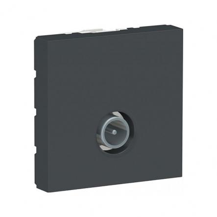 Розетка TV одинарная Schneider Electric NU346254 2М (антрацит) - 1