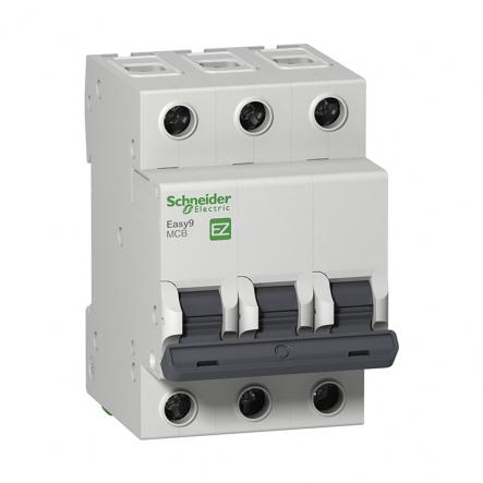 Автоматический выключатель EZ9 3Р 10А С Schneider Electric - 1