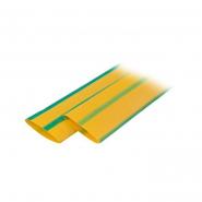 Трубка термоусадочная ТТУ 25/12,5 желто-зеленая 50 м/рул ИЕК