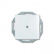 Заглушка белая ABB Basic 55