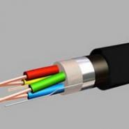 Кабели зоновой связи высокочастотные одночетверочные с ПЭ изоляцией ЗКПм 1х4х1,2 ал.