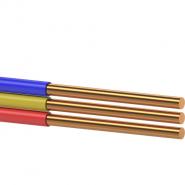 Провод установочный с медной жилой плоский ВВП-3 3х4,0