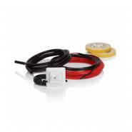 Нагревательный кабель, 10W/m в комплекте с регулят.ECO10FJ 115W 10m 0.7-1.0m² FinnKit ENSTO