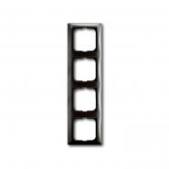 Рамка четверная серый ентре