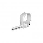 Обойма для труб и кабеля Д.15-16мм/50шт/белый