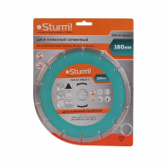 Алмазный диск сегментный STURM d=180mm