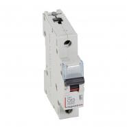 Автоматический выключатель Legrand DX 1п 63А (типС) 03392