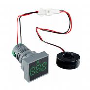 Амперметр цифровой ED16-22FAD 0-100A (зелёний) врезной монтаж