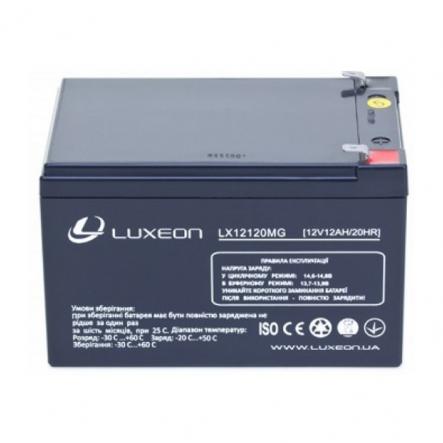Аккумуляторная батарея 12V 12Ah LUXEON - 1