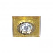 Светильник точечный MR-16 G5.3 50W мерцающее золото/золото
