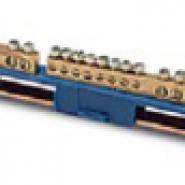 Клеммный блок для цепи заземления 2х4,5+3х5,6
