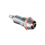 Сигнальная арматура AD22C-10 АС 220В LED красная