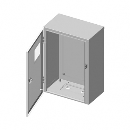 Бокс монтажный БМ-40 стекло 250х400х140 IP54 + панель ПМ - 1