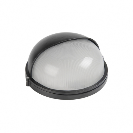 Светильник НПП 1103 черный-круг полусфера 100Вт IP54 - 1
