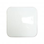 Светильник потолочный квадрат 300*300 серебро 24W