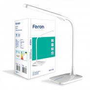 Настольная лампа FERON DE1732  6W 3000K-4000К-6000К белый