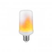 Лампа LED SMD 5W E27 1500K 100-250В/50 пламя HOROZ